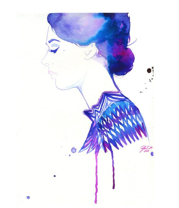 watercolor illustration by jessica durrant