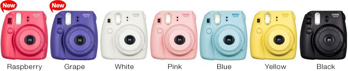 The raspberry one.  http://www.fujifilm.com/products/instant_photo/cameras/instax_mini_8/