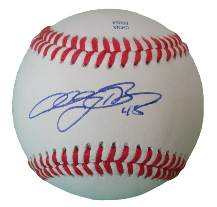 Anthony Bass Autographed Rawlings ROLB1 Leather Baseball, Proof Photo