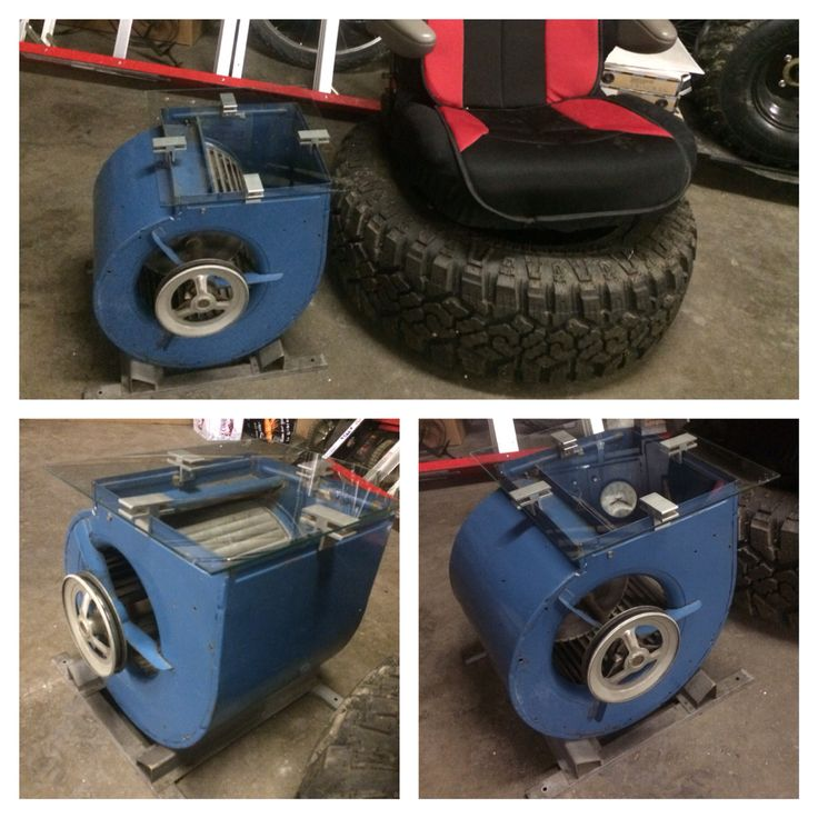 Man Cave side table - Blower from the dump