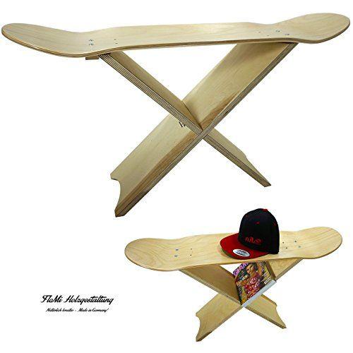skateboard bank mobil dank stecksystem echtholz made in germany bank hocker - Skateboard Bank Beine