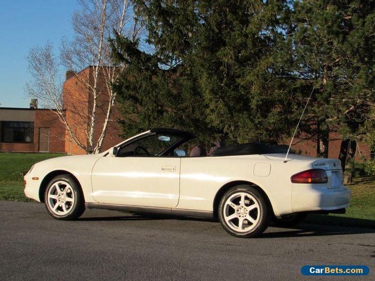 1995 Toyota Celica GT Convertible 2-Door #toyota #celica #forsale #unitedstates