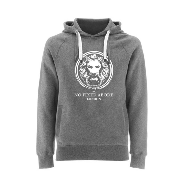 Hoodie Large Lion Front