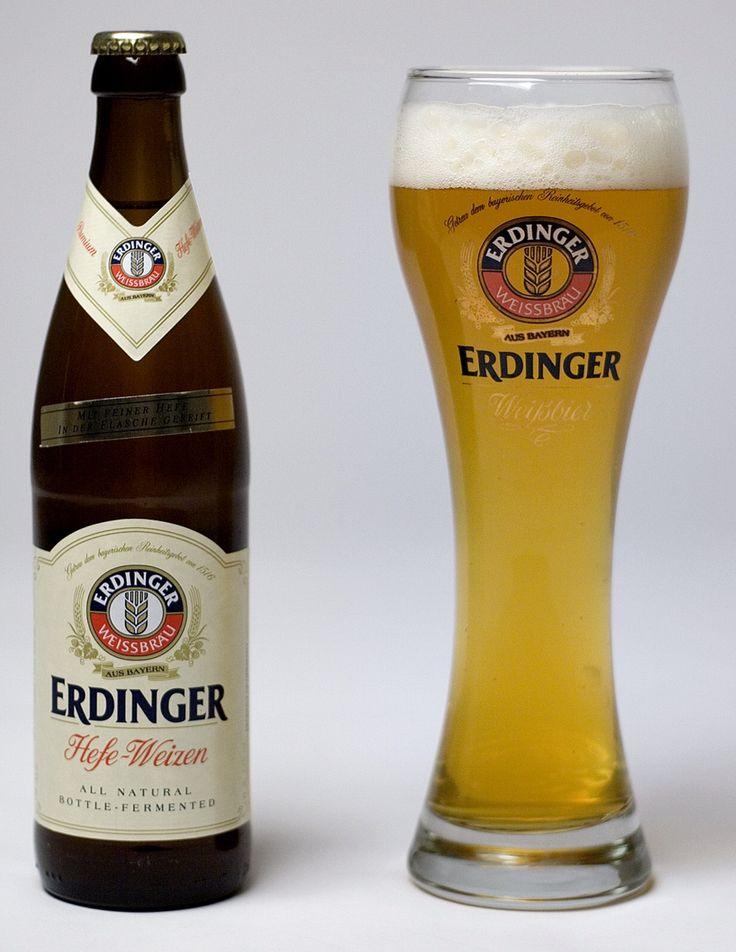 Erdinger Hefe weizen, Bavarian (Germany) | Recommended ...