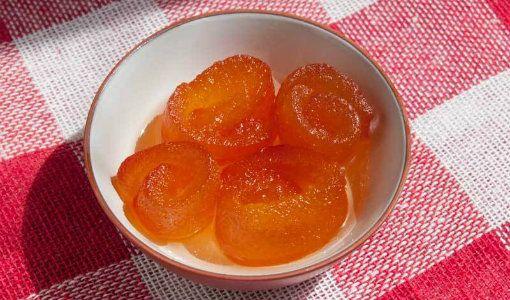 turunç reçeli yapımı