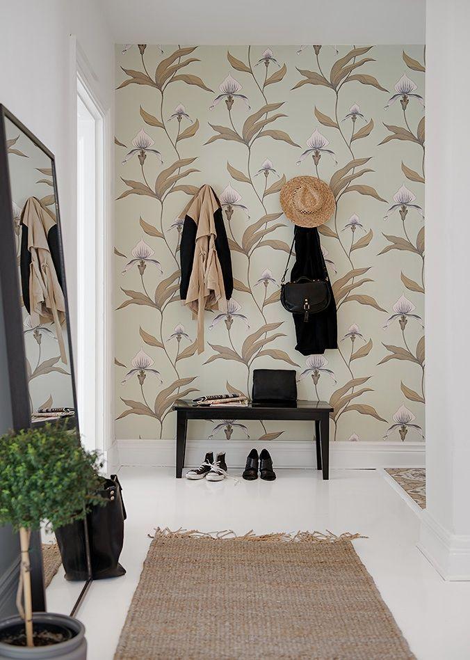 Foyer Wallpaper Love : Best modern entryway ideas on pinterest credenza