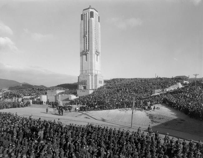 opening of the carillon 1932