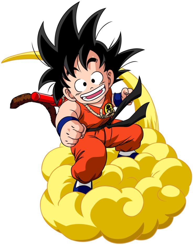 Goku y la nube voladora