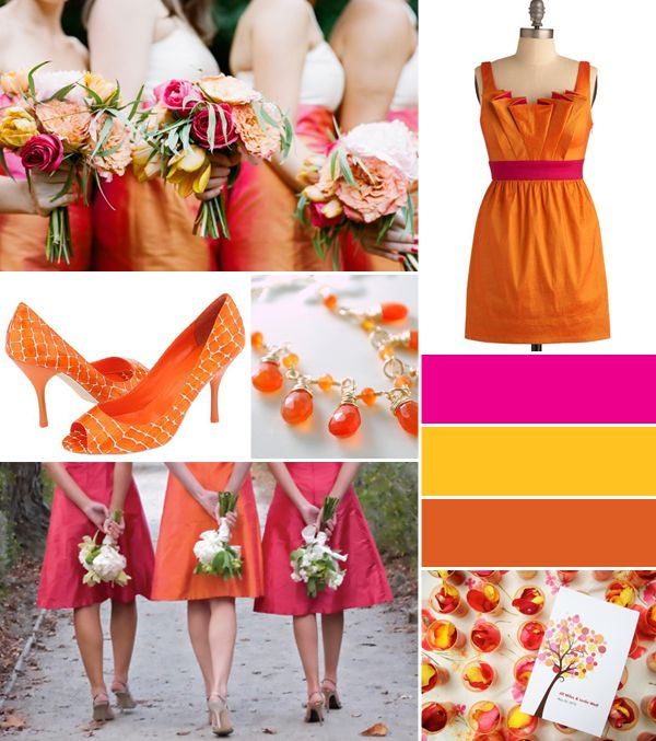 99 best images about Tangerine Wedding on Pinterest ... Tangerine Tango Wedding