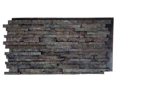 Rust Slate Wall False decorative panels made from real stones