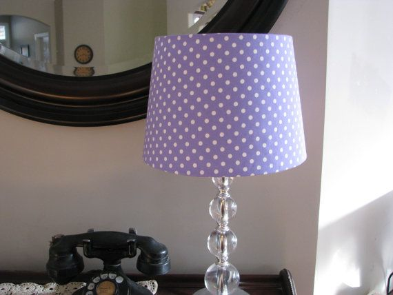Hey, I found this really awesome Etsy listing at https://www.etsy.com/listing/254572523/lavender-purple-lamp-shade
