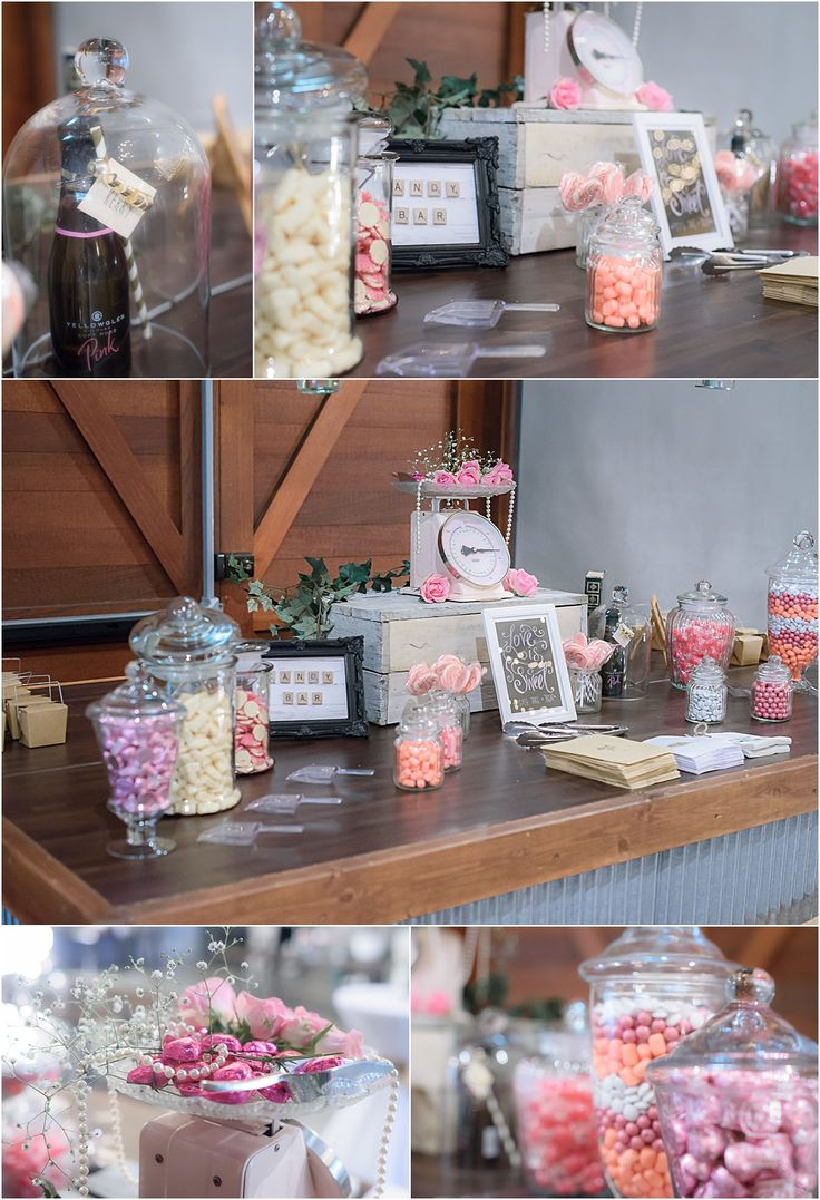 Osteria Wedding Styling Pink lolly buffet