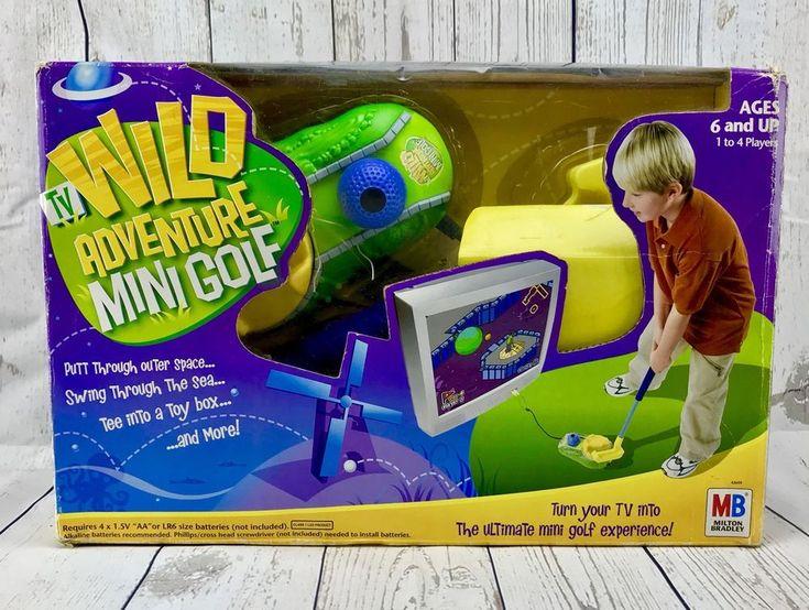 Tv Wild Adventure Mini Golf Children's Kids Tv Golf Games Brand New In Box Rare