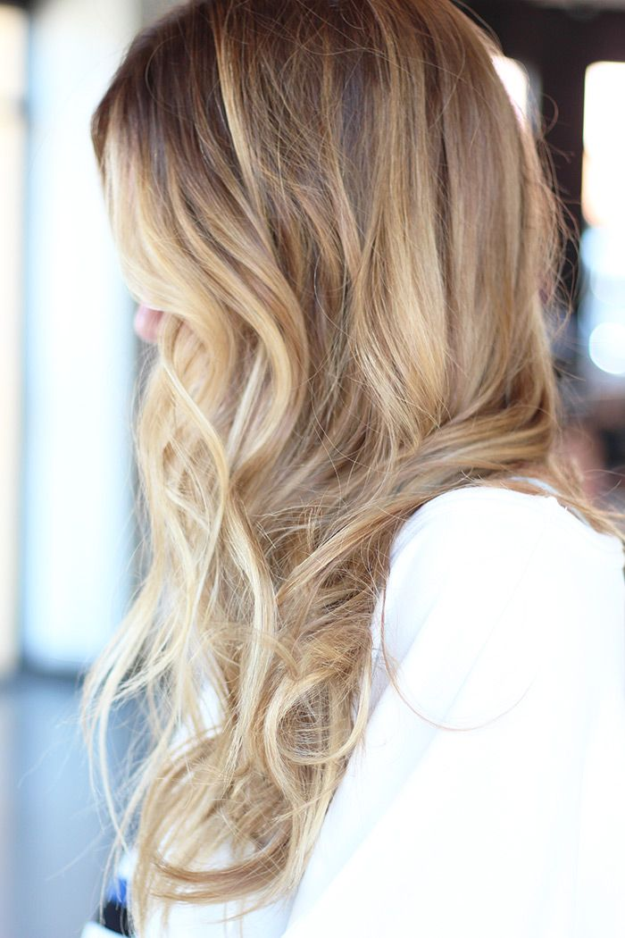 melted by danielle K white #blonde#ombre