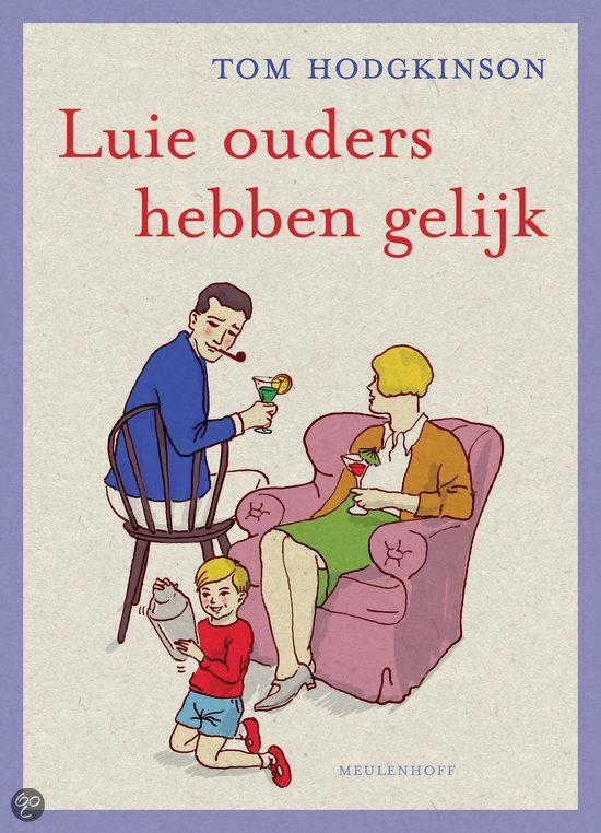 HET boek over opvoeding dat mij het meeste lucht en ruimte heeft gegeven de laatste jaren (en God weet hoeveel ik er heb gelezen...) De titel vond ik eng (want mogen ouders lui zijn?) maar als je enkele pagina's verder bent openbaart zich een hele filosofie, en nog wat verder begrijp je dat de essentie van het gezinsleven zoveel eenvoudiger is dan wat we ervan hebben gemaakt. Leve de vrijheid, leve Tom Hodgkinson, ik ben vastberaden om meer boeken van hem te lezen. Ik kreeg de inzichten…