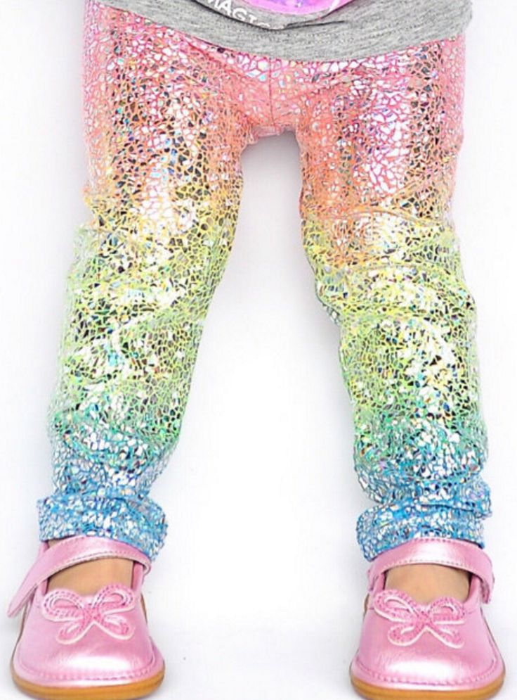 Darling unicorn leggings for little girls