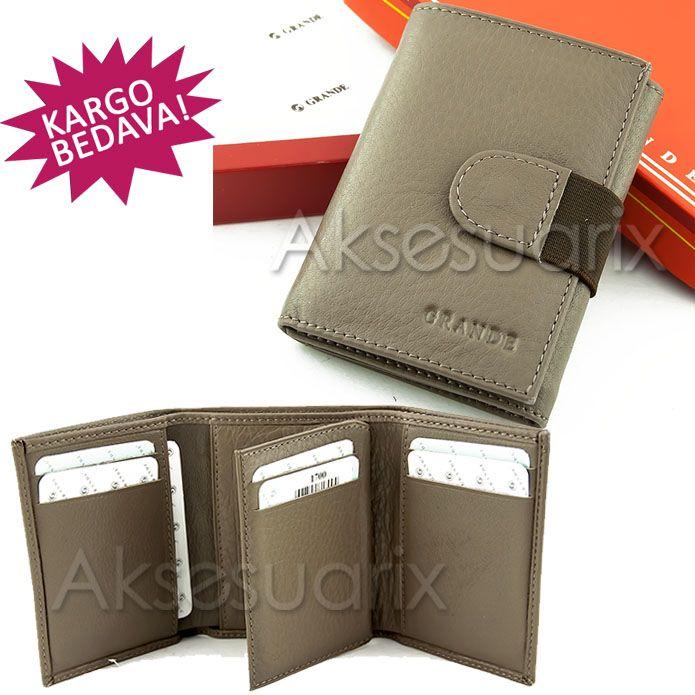 Babalar Gününde Babanıza alacağınız hediye seçeneklerinden olan cüzdanları babanız hiç yanından ayırmayacak.Cengiz Pakel, Guzini, Gündoğdu ve Whitetribe markalarının sunduğu hakiki deri cüzdanlar babanız için çok şık bir hediye seçeneği olacak.Bir çok farklı model ve 2014 yılında en çok beğenilen renkleriyle cüzdan modelleri hep sizi hatırlatacak. www.aksesuarix.com