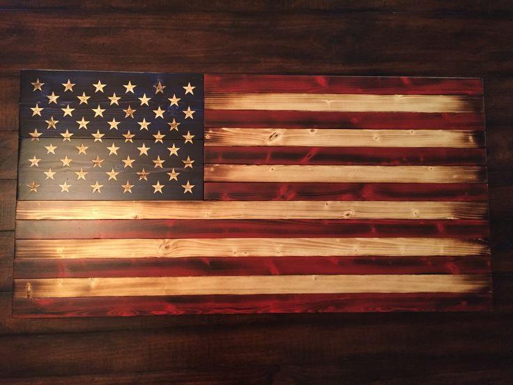 Old glory battlefield american flag medium american flag wall artwooden