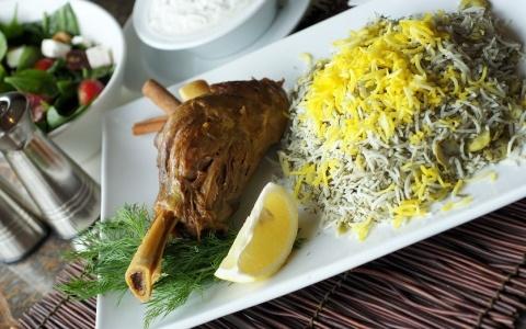 Baghali polo ba mahiche yummy pinterest polos for Ahmads persian cuisine