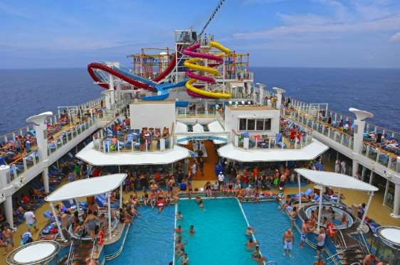 GOING DURING PEAK SEASON  Take advantage of wave season. If you can go on a cruise between January and March, do so. This is when you're going to see a lot of discounts if you look for them in advance. Cruise lines also often offer free perks if you book a trip during the wave season.