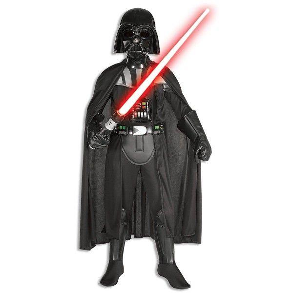 Kinder Kostüm Darth Vader Deluxe - Overall mit Maske