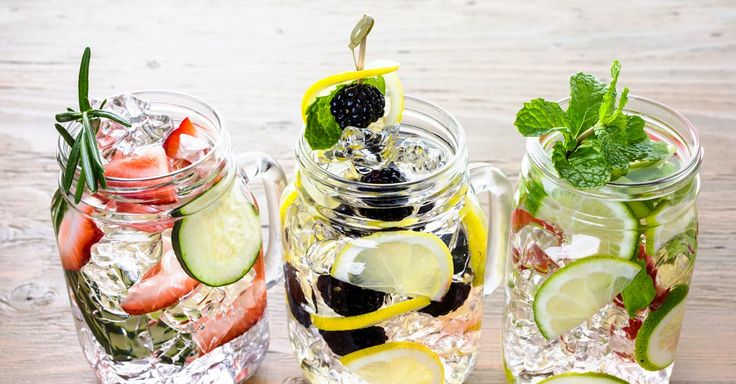 Adding some herbs, fruits and vegetables to the water will not only improve its taste but can offer some added health benefits. Read more.