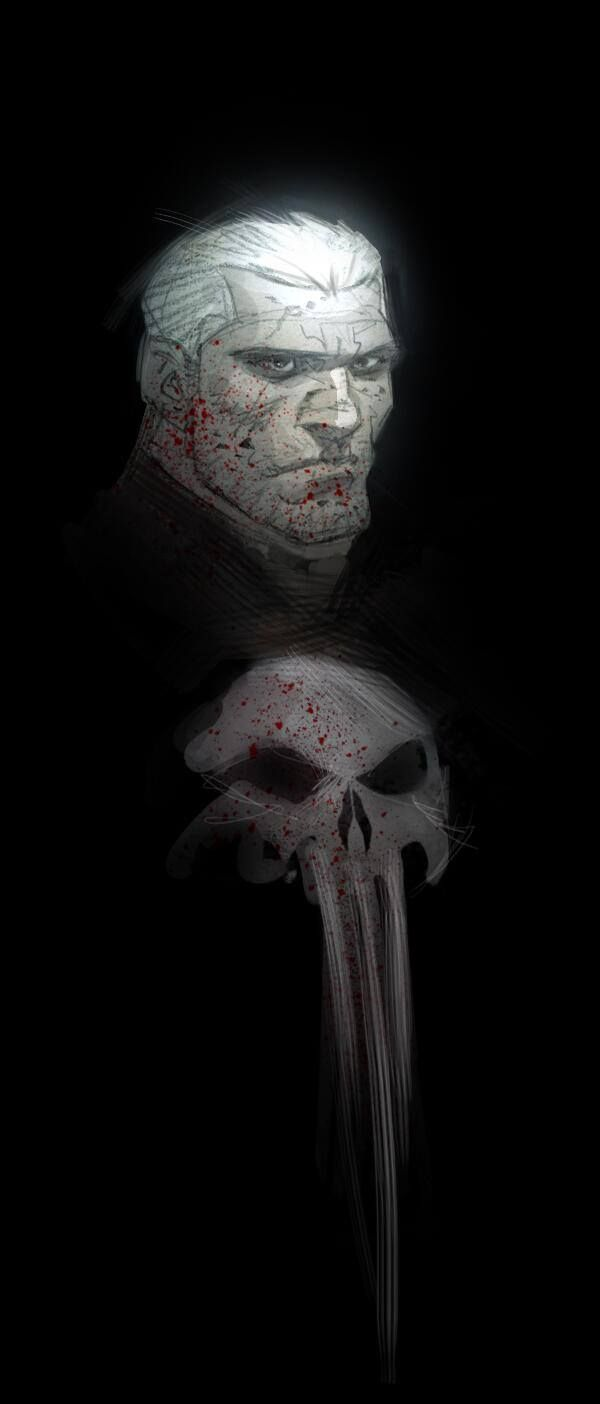 """What's black, white and red all over? """"Justice"""" Frank Castle - The Punisher #PunisherApproved"""