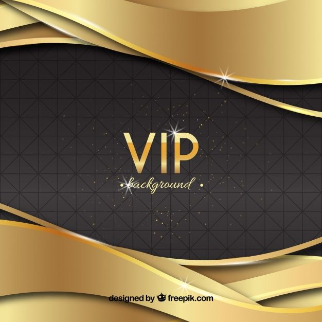 Download Elegant Vip Background With Golden Waves For Free Loyalty Card Template Business Card Design Creative Modern Business Cards
