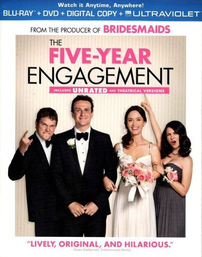 The Five-Year Engagement [2 Discs] [Includes Digital Copy] [UltraViolet] [Blu-ray/DVD] [2012]