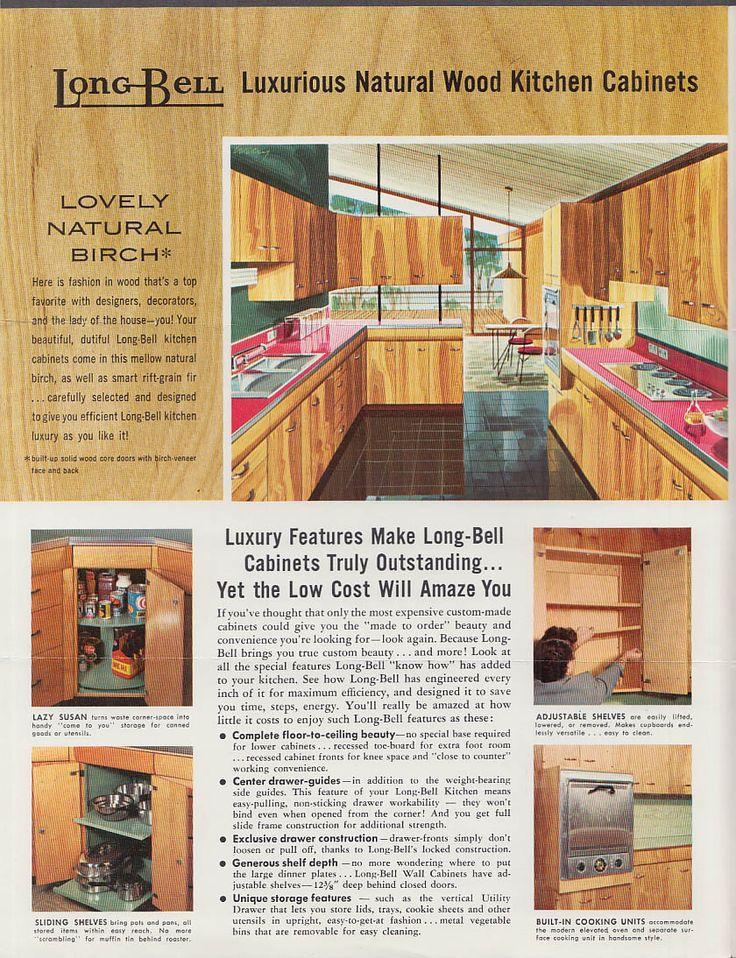 Long Bell Kitchen 1955 Longview, WA Kitchen