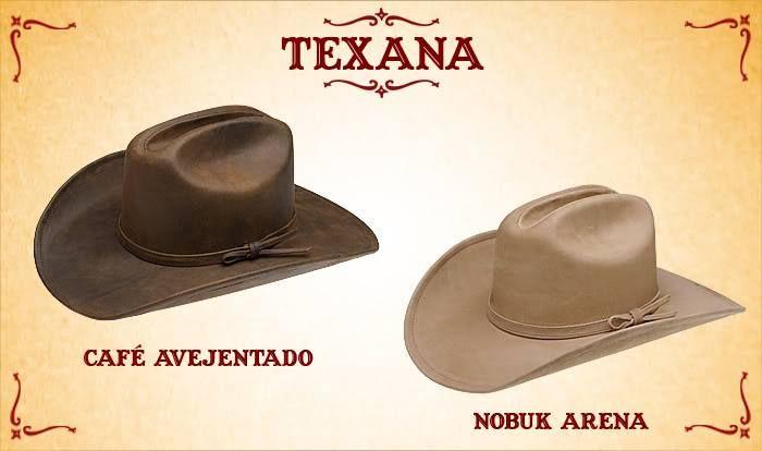 #Sombreros modelo texana, café y arena