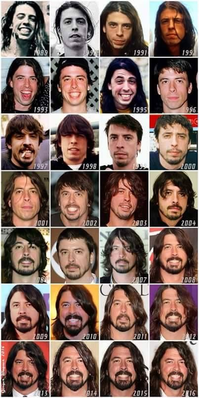 Dave, Dave,Dave, Dave, Dave.Amazing that he was seriously not attractive as a young man and then DAMN ......