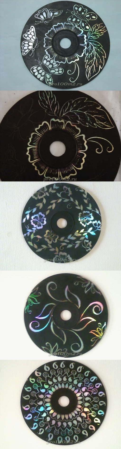 Decorar as paredes da unidade de CD-ROM