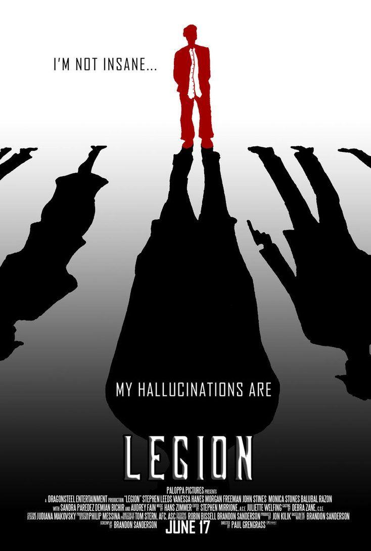 Legion Movie Fan Poster by ryuwind23