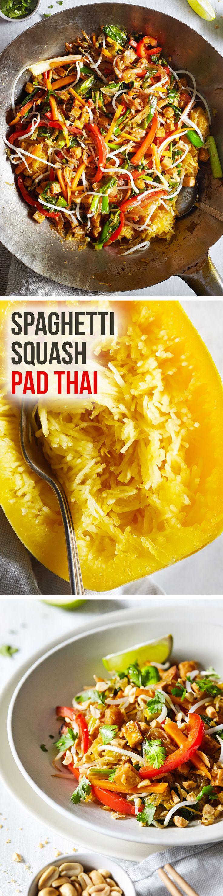 Spaghetti Squash Pad Thai #Paleofy   Natural Girl Modern World
