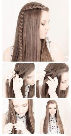 Not going on any first dates but the hair styles are cute. Top 10 Romantic Hair Tutorials for First Date