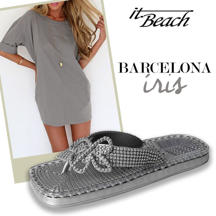 Our Barcelona Iris beach-resort-cruise sandals || unique squishy soles || soles with breathable vents for air circulation || the perfect accessory for your holidays! SHOP them NOW via the link in our bio.