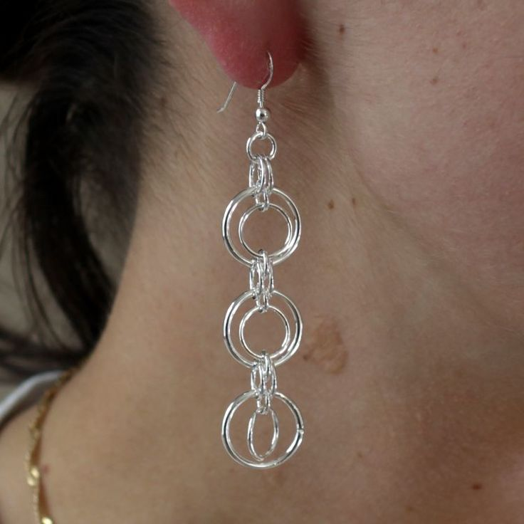 Buy our Australian made Sterling Silver Earrings - Laycie online. Explore our range of custom made chain jewellery, rings, pendants, earrings and charms.