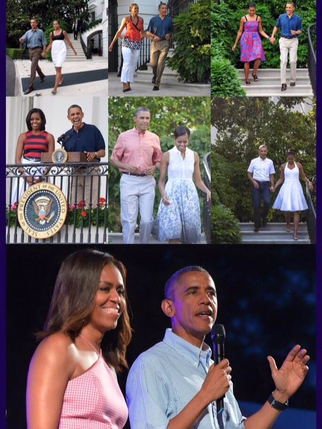 #TheObamas #4thOfJuly at the #WhiteHouse #July4th Through The #Years 2009-2015  #44thPresident #BarackObama, alongside #FirstLady #MichelleObama and daughters #SashaObama and #MaliaObama addresses a gathering of military families at the White House on July4th in Washington, DC. Barack Obama Addresses #MilitaryFamilies At 4th Of July Celebration #ObamaFamily #ObamaLegacy #ObamaHistory #ObamaLibrary #ObamaFoundation Obama.org