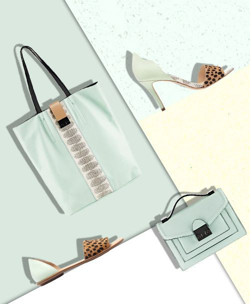 Shop Mint Mix Shoes and Handbags at the Official Loeffler Randall Store www.LoefflerRandall.com