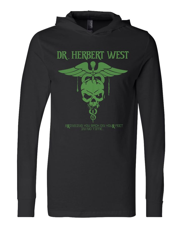 Dr. Herbert West Unisex Hooded from The Great T-shirt Store