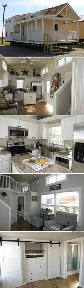 A 399 sq ft park model home, currently available for sale in Dallas, Texas!