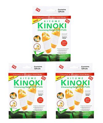 Look at this #zulilyfind! Cleansing Detox Foot Pad - Set of 30 by KINOKI. $15 #zulilyfinds