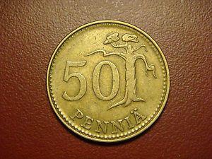 Finland 50 Pennia 1971 Coin | eBay