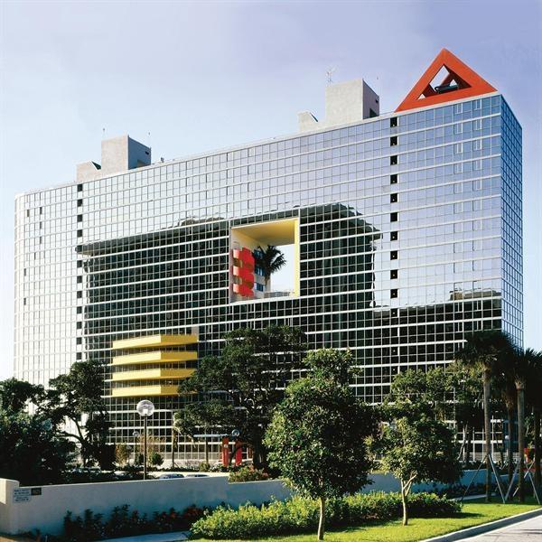 Arquitectonica Downtown Miami Atlantis Condominium