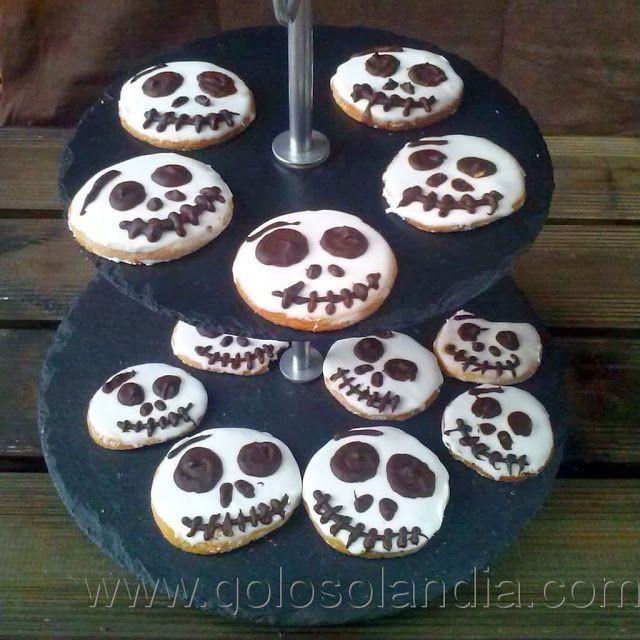 Galletas de halloween - Receta fácil  paso a paso para tus galletas de Halloween sin usar fondant. explicamos todo paso a paso . Receta simple para divertir a los más peque...