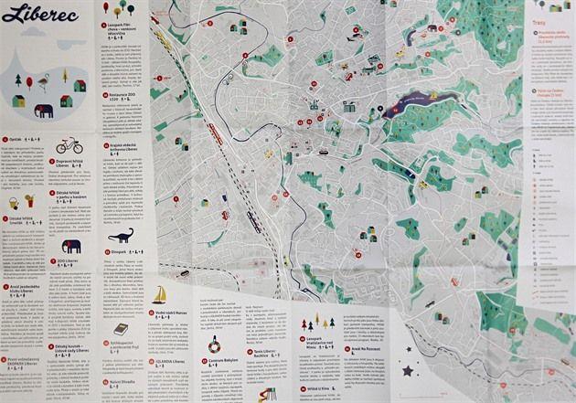 Nová mapa shrnuje nejzajímavější tipy na výlety s dětmi po Liberci a Jablonci. K dostání je v infocentrech obou měst. Unikátní je v tom, že turistické cíle nevybírali kartografové, ale sami místní obyvatelé. V minulosti už tvůrci stejným způsobem vytvořili mapu míst, kde se pobaví mladí lidé.
