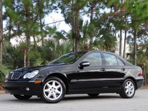 Mercedes-Benz : C-Class C 240 V6 2002 MERCEDES C240 NO RESERVE LOW 69K MILES ONE OWNER FLORIDA RUST FREE C230 - http://mostbidded.com/ads/mercedes-benz-c-class-c-240-v6-2002-mercedes-c240-no-reserve-low-69k-miles-one-owner-florida-rust-free-c230