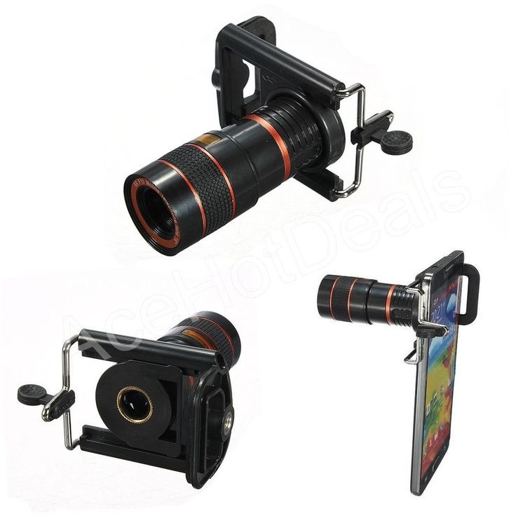 8x Zoom Optical Lens Telescope + universal holder For Camera Mobile Cell Phone #UnbrandedGeneric