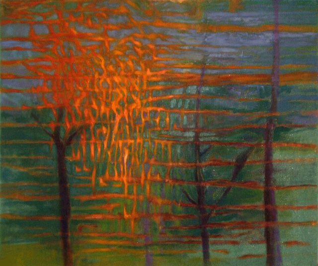 Krusche Jan MAZOWSZE oil on canvas 100x120cm.